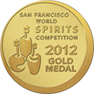 San Francisco Wine and Spirits Competition, Gold Award, 2012 (Whyte & Mackay 13 Year Old)