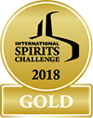 International Spirits Challenge, Gold Award, 2018